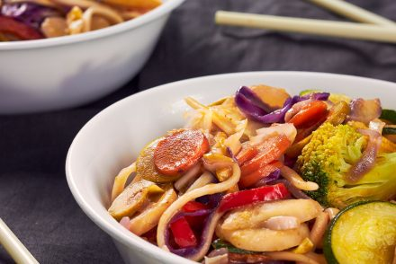 Udon Stir Fry Magic