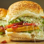 Chickpea, Pumpkin and Dill Burgers