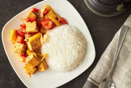Sweet & Sour Chilli Tofu