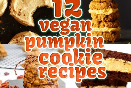12 vegan pumpkin cookie recipes