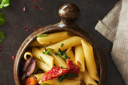 Chilli and Garlic Penne Pasta