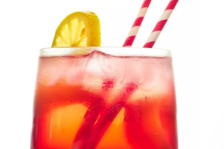 Cranberry, Elderflower and Rose Spritzer