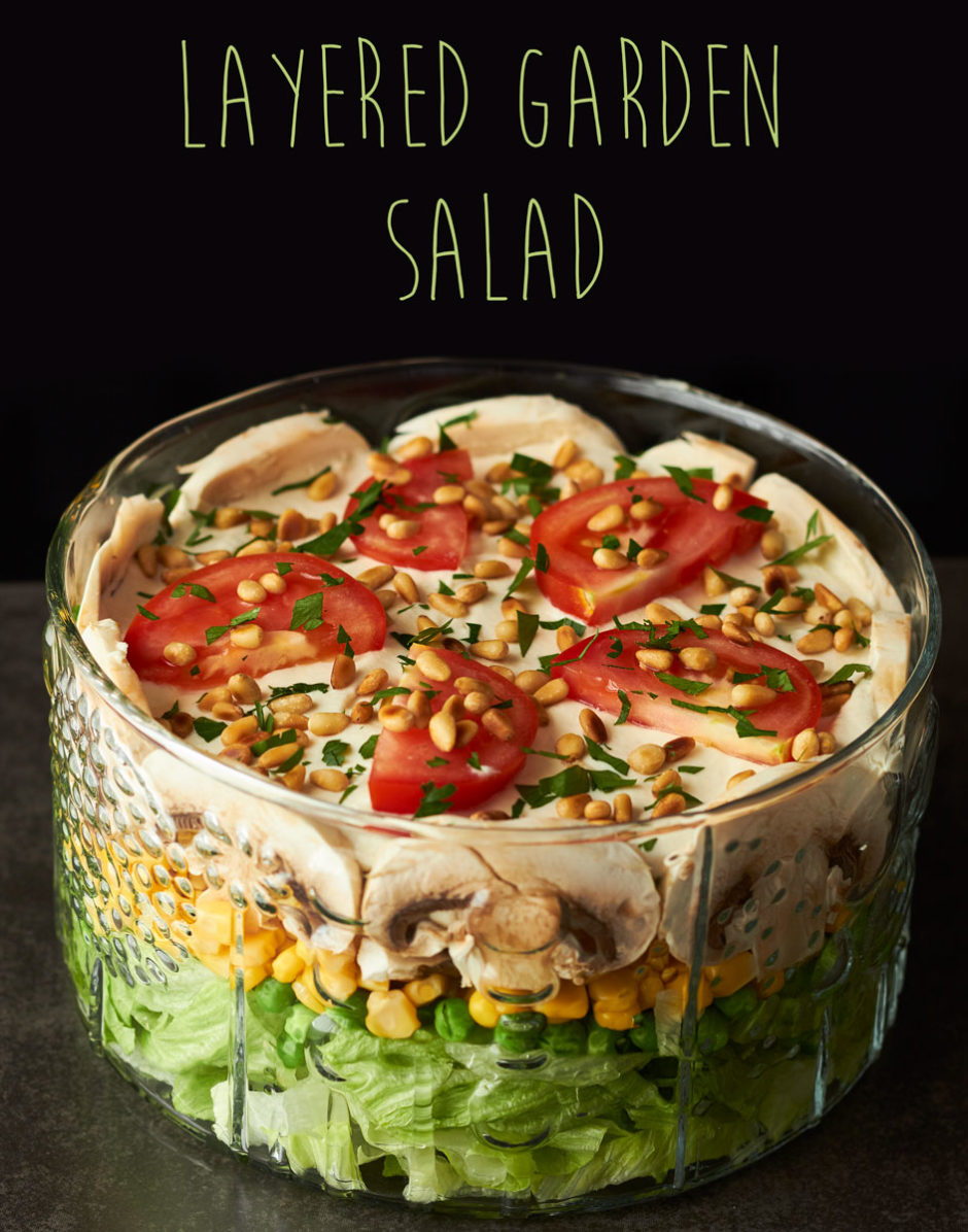 Layered Garden Salad