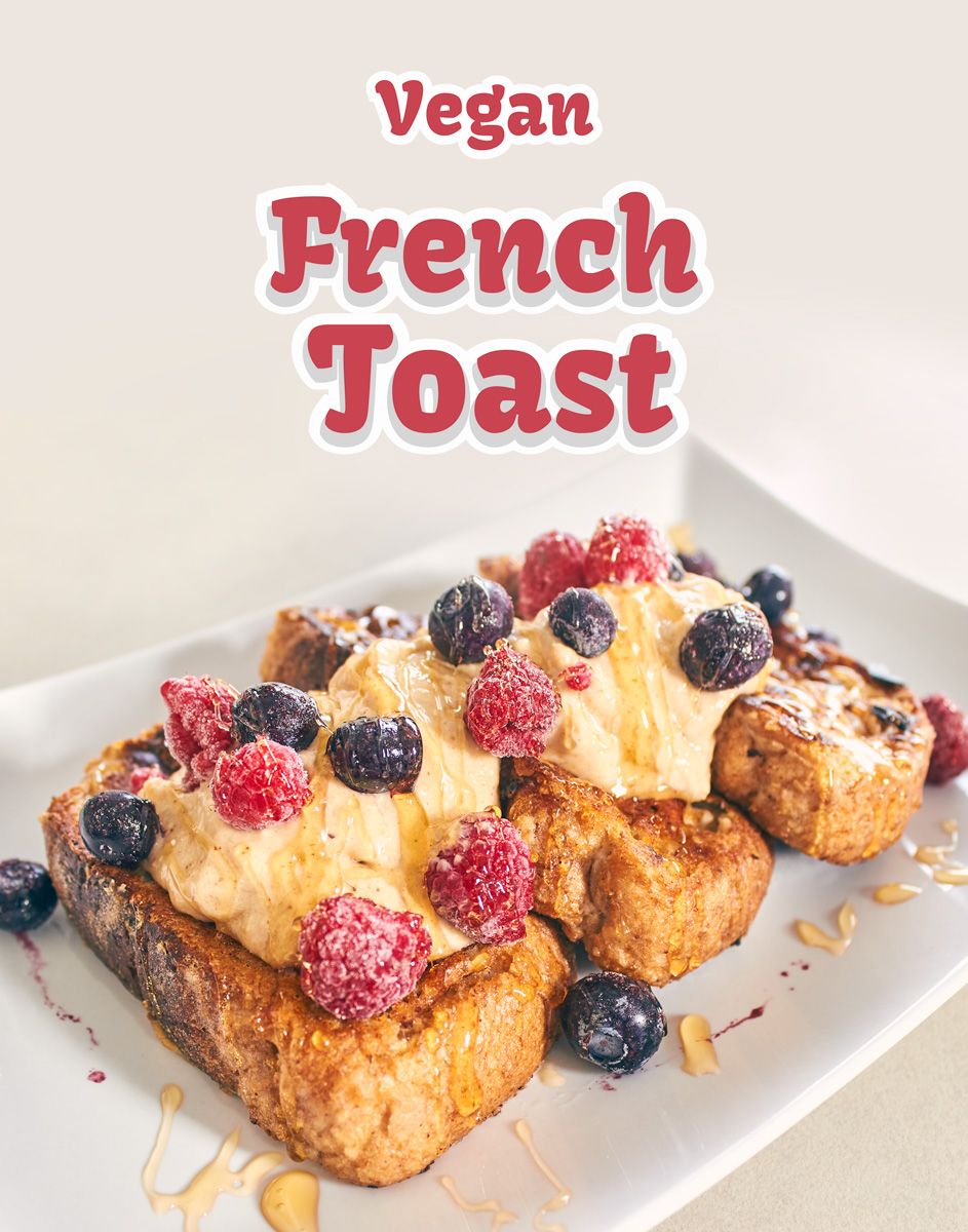 Easy Vegan French Toast