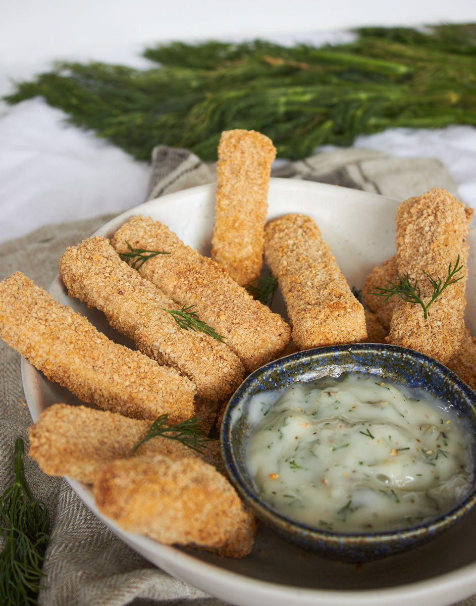 Vegan Fish Fingers - Delightful Vegans