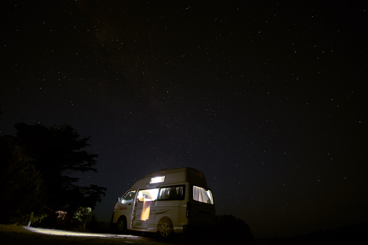 Campervan adventure in Tasmania