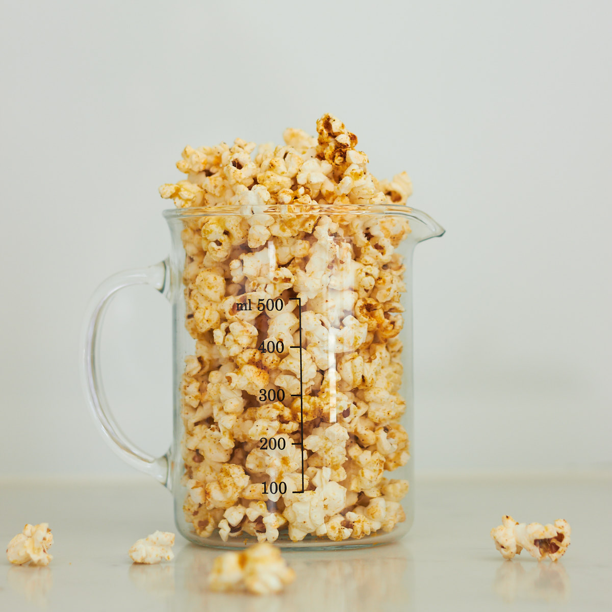 Savoury Smoky Cheesy Popcorn