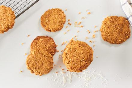 Peanut Coconut Cookies