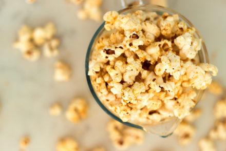 Savoury Smoky Cheesy Popcorn