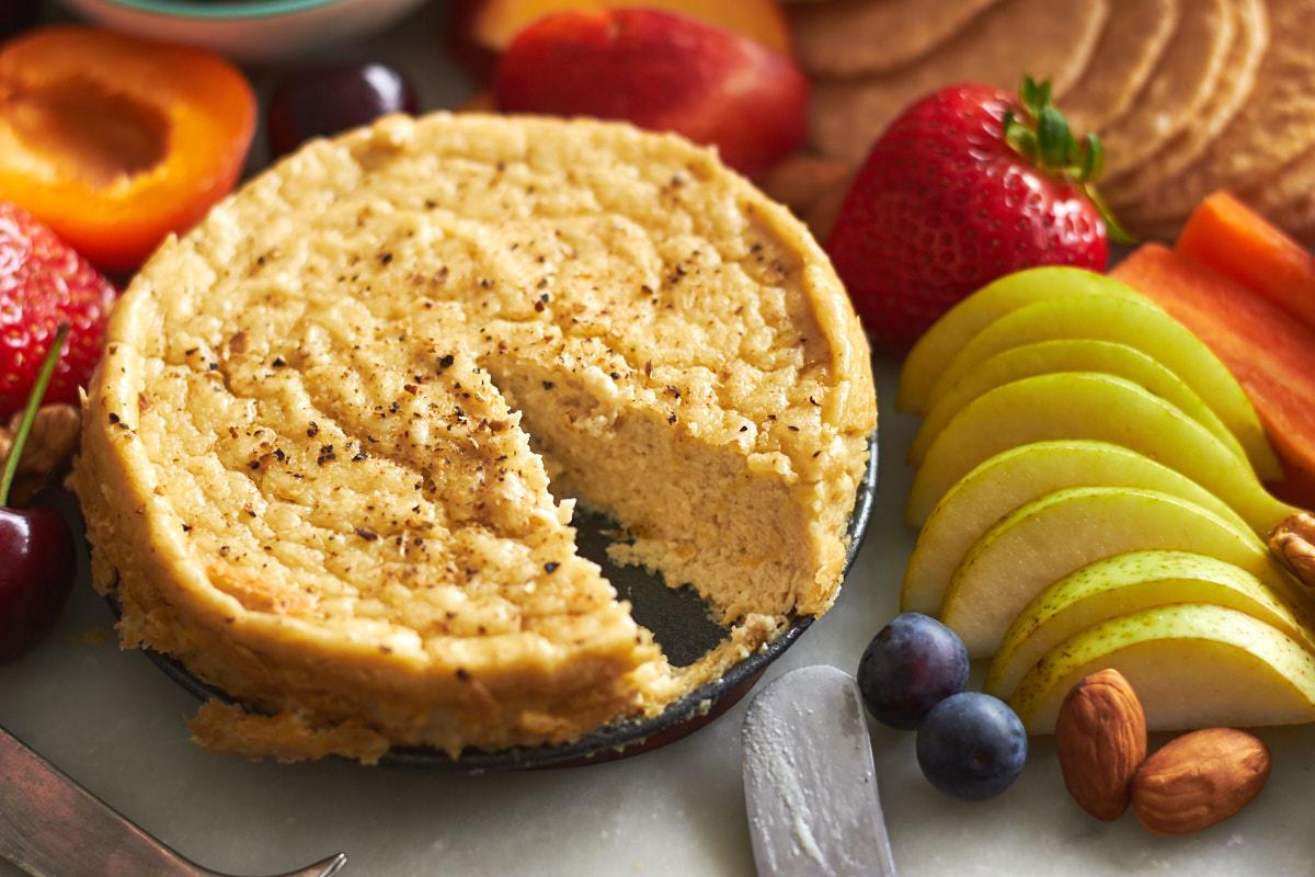 Vegan Cheese and Fruit Platter