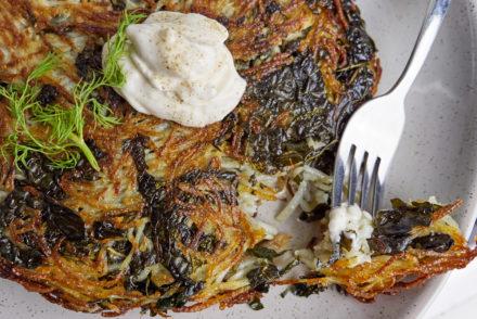 Potato and Kale Rosti