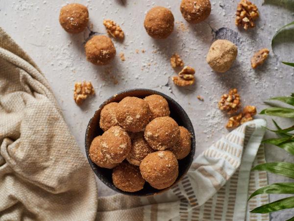 Miso Peanut Butter Protein Balls