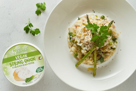 Spring Vegetable Risotto with Sheese