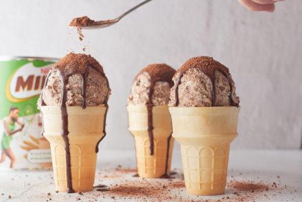 Vegan Milo Ice Cream
